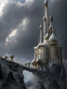 Snow Castle by James Paick
