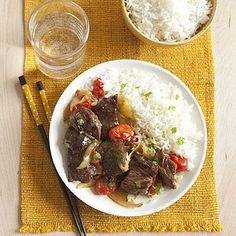 Coconut-Curry Beef recipe