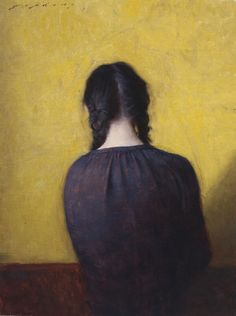 Braids  by Jeremy Lipking  I. Love portraits like this that make you think about the subject. It only takes moments for a story to emerge...