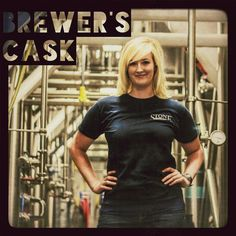 Assistant Brewer LAURA MIRSCH creates a cask with Stone IPA w/Chervil, Savory, Thyme & Lavender