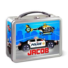 Kids Personalized Police Rescue Classic Look by NewSpeedLimit, $27.99
