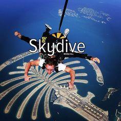 Bucket list: skydive in Dubai #dubai #uae