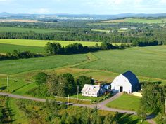 View of Critter Hill Kennel in Presque Isle, Maine
