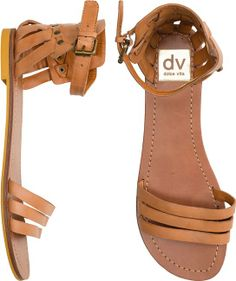 The perfect Summertime Sandals. http://www.swell.com/New-Arrivals-Womens/DV-DAFFODIL-ANKLE-STRAP-SANDAL?cs=TA