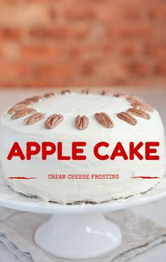Carla Hall wanted to give the perfect gift to Daphne Oz's daughter Philo on her first birthday, so she made her Apple Cake with Cream Cheese Frosting recipe. http://www.foodus.com/chew-carla-hall-apple-cake-cream-cheese-frosting-recipe/