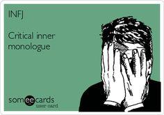 #Infj #MeyersBriggsTypeIndicator #MBTI #storyofmylife #Introvert #iNtuition #Feeling #Judging
