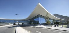 Built by bblur architecture,3DReid Architects in Gibraltar, Gibraltar Gibraltar Airport's uniquely situated new terminal building is modern, dynamic, transparent and airy. Designed by bbl...