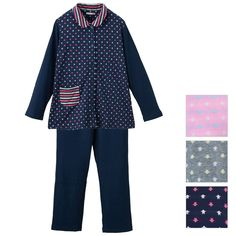 Star and stripe Double knit Pajama