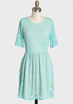blue lace dress via shopruche.com