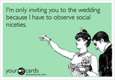Search results for 'wedding' Ecards from Free and Funny cards and hilarious Posts Funny Memes About Life, Funny Jokes To Tell, Hilarious, Wedding Ecards, Funny Girl Movie, Funny Pictures With Captions, Funny Tumblr Posts, School Humor, Work Quotes