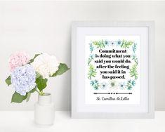 St. Camillus de Lellis quote print Commitment quote Catholic   Etsy Commitment Quotes, Saints, Saint Quotes, Catholic Art, Quote Prints, You Got This, Feelings, Etsy, Its Ok