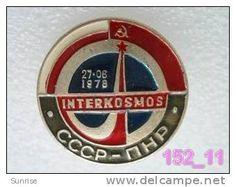 SPACE: Intercosmos - international space fly programm USSR-Poland / old soviet badge USSR_152_sp7579 - Delcampe.com
