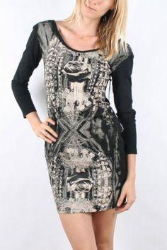 Amazon.com: Iron Fist - Womens OMG! L/S Dress in Black: Clothing (a favourite repin of VIP Fashion Australia )