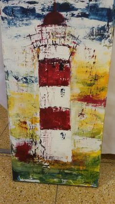 Leuchtturm Acryl Inspiration, Gw, Abstract, Drawings, Paintings, Ideas, Paint, Painting Abstract, Watercolor