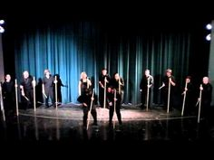 Stick Schtick - Chris Brooks - Adams State College Percussion Ensemble - YouTube