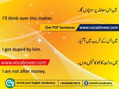 English to Urdu conversation PDF, Short English sentences with Urdu meanings, Urdu to English translation PDF English English, English Idioms, English Phrases, English Writing, English Study, English Lessons, English Grammar, English Course, Better English
