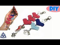 Macrame Heart Keychain Tutorial - EASY Keychain DIY - YouTube