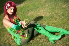 DC Comics: Batman. Character: Poison Ivy. Cosplayer: Martina Corona 'aka' Doll Marty. Event: Romics 2009. Photo: Walter Pellegrini.