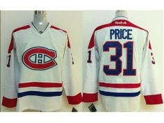 NHL Montreal Canadiens 31 Carey Price White 2014 Jerseys Max Pacioretty 7e581395e