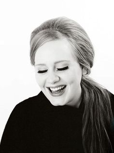 """ADELE """"No matter what you look like, I think the key is to be happy with yourself."""""""