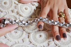 #mercredie #blog #mode #fashion #dress #lace #dentelle #warehouse #robe #bracelet #silver #argent #vintage #studs #skull #ring #opi #nail #nailart #art #polish #you don't know jacques