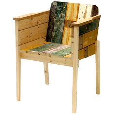 Scrapwood Arm Chair design: Piet Hein Eek