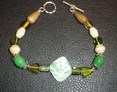 Hand made bracelet  from ELkira Shells & Stones- $10.