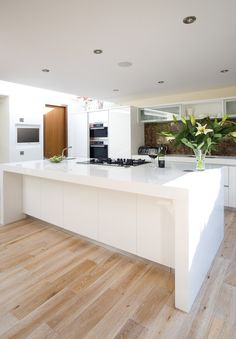 Lovely Ideas for your lovely kitchen : High Class White Laminate Kitchen Island Design Ideas  Desirable Apartment Kitchen Island Design Ideas ...