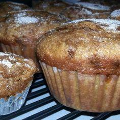 Cinnamon Chip Pumpkin Muffins Recipe | Just A Pinch Recipes