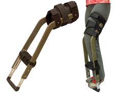 Freedom Leg Looks Like A Better Alternative To Crutches. Hopefully never need it, but it's on my Pinterest site in case I do.