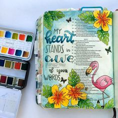 """59 Likes, 1 Comments - Kim Mroch (@drawnearlettering) on Instagram: """"I'm really excited about doing my first Bible journaling session tomorrow. I can't wait to share…"""""""