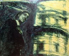Dissociation 1990 oil on canvas cm. Dissociation, Oil On Canvas, It Works, Portrait, Painting, Painted Canvas, Painting Art, Portrait Illustration, Paintings
