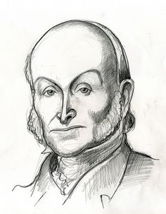 John Quincy Adams, sixth president of the United States 1825-1829.