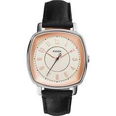 Fossil Visionist Leather Watch