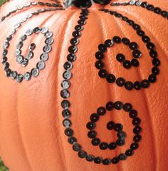 Sew Divertimento: Bling Bling... PUMPKIN ! {with Tutorial}