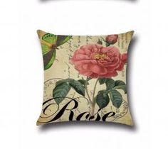 2018 Summer Flower Pillows Case 45 x Home Cotton Linen Square Throw Pillow Cover Cushion PillowCase Cover Sofa Pillow Covers, Sofa Throw Pillows, Cushion Covers, Pillow Cases, Cushion Pillow, Floral Cushions, Printed Cushions, Sofa Bed Decor, Feltro