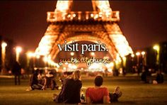 ~°Visit Paris°~ # Bucket List #Before I die