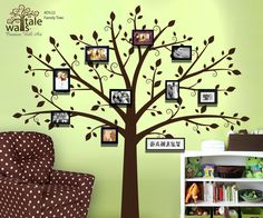 Family Tree Decor For Wall check out these creative, artsy family tree wall decals as a way