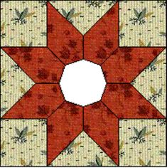 Quilt Blocks of the States - Texas - Quilting