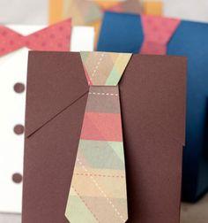DIY Father's day gift boxes (with free printable) // Elegáns férfias ajándéktasakok (nyomtatható mintaívvel) // Mindy - craft tutorial collection // #crafts #DIY #craftTutorial #tutorial #MothersDayCrafts #FathersDayCrafts