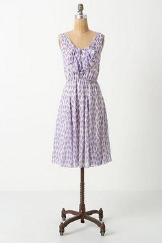 Love this Diamond Kite Dress #anthropologie