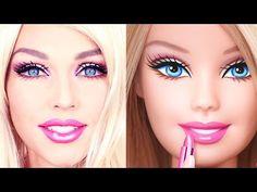 Simak aksi Kandee Johnson mengubah penampilannya menjadi mirip Barbie dalam waktu 90 detik!
