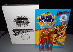 DC Super Powers Collection GOLD EDITION SUPERMAN 6 inch Action Figure #Mattel