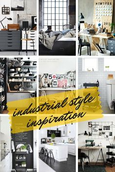 Get The Look: Industrial Style Selection