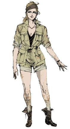 Cécile Cosima Caminades, Metal Gear Solid: Peace Walker