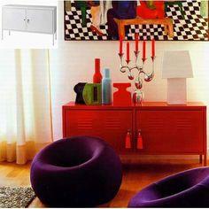 Ikea PS Cabinet With Tassels On Keys