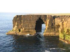 The Scaun, Ilhas Orkney, Escócia, Reino Unido