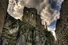 Tower of the Ruins of Beckov Castle - Slovakia