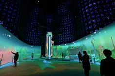 Developed by Design IO for the New York Hall of Science, the immersive installation Connected Worlds is an interactive digital ecosystem that stretches the mind while stimulating the imagination. An educational tool designed to nurture children's environmental consciousness, the installation consists of a nearly 280-m2 interactive floor and six digitally choreographed ecosystems that envelop the museum's expansive Great Hall. Emerald jungles merge with 'discerning' deserts, while a central…