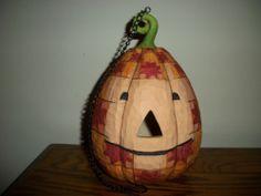 Jim Shore Halloween Jack O Lantern Pumpkin Hanging Lantern   eBay